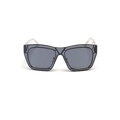 Alger Lunettes de soleil en métal cadre une tranche mode unisexe conduite lunettes de voyage anti-UV , E