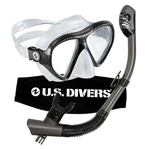U.S. Divers Adult Magellan Purge LX Mask/Tucson LX Snorkel Photo #1