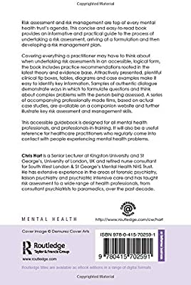 A Pocket Guide To Risk Assessment And Management In Mental Health Hart Chris 9780415702591 Amazon Com Au Books