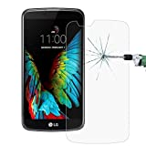 0.26mm 9H Surface Hardness 2.5D Explosion-proof Tempered Glass Screen Film for LG K10