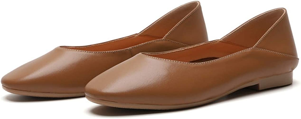 Women/'s Ballerina Ballet Flats Shoes Slip On Boat Loafers Pump Shoes Size 4-10
