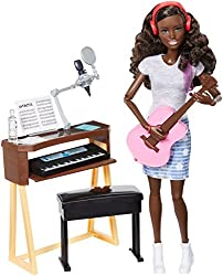 Barbie Musician Doll & Playset, Brunette