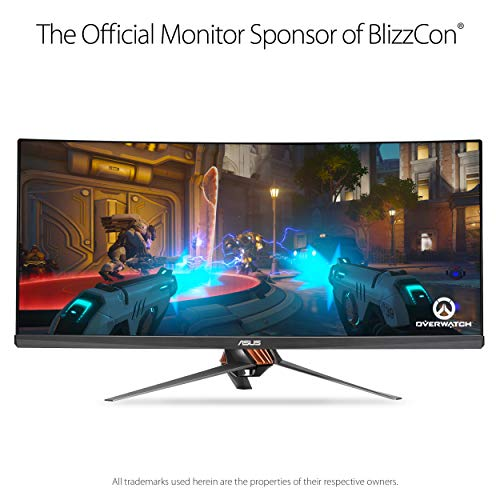 """ASUS ROG PG348Q 34"""" 100Hz Care Gaming with and"""