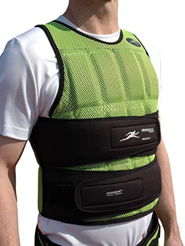 Speed-vest Long Breathable 1-17 Lb. Athlete Training Weighted Vest