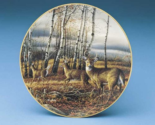 The Birch Line Collector Plate by Terry Redlin