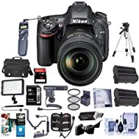 Nikon D610 DSLR Camera with 28-300MM Lens. Value Kit with Accessories #13304