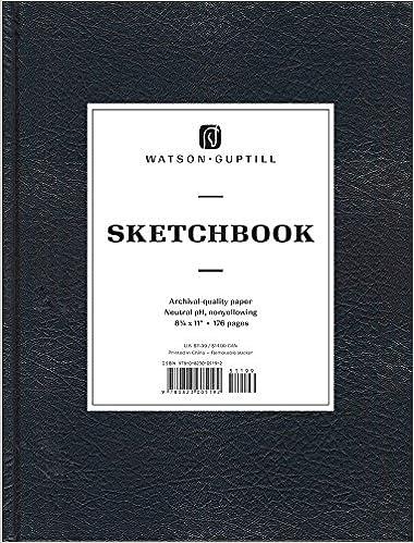 large sketchbook kivar black watson guptill sketchbooks