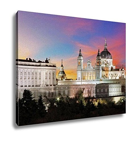Ashley Canvas Spain Madrid Cathedral Almudena Wall Art Decoration Picture Painting Photo Photograph Poster Artworks, 20x25 by Ashley Canvas