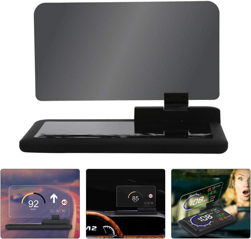 Coche Universal HUD Pantalla La Navegacion GPS HD Imagen Reflector Teléfono Inteligente Head Up Display Protector De Conducción.