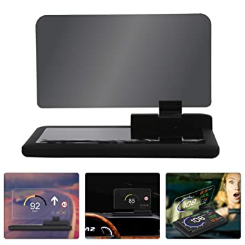 Coche Universal HUD Pantalla La Navegacion GPS HD Imagen Reflector Teléfono Inteligente Head Up Display Protector