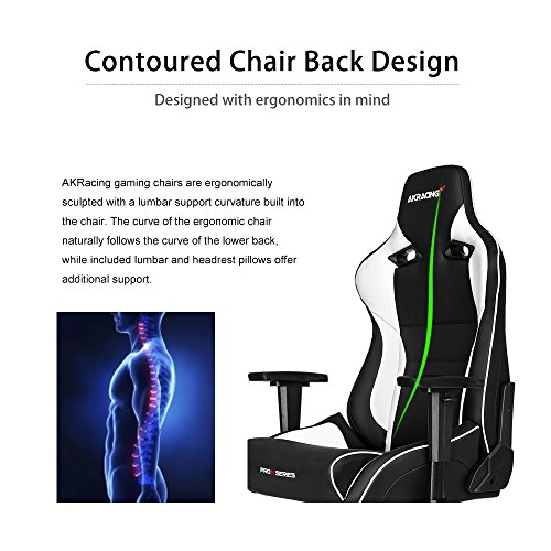 Akracing Pro X Gaming Chair White Gaming Chair Reviews