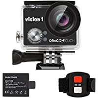Dragon Touch Kids Action Camera 1080P Waterproof Camcorder Video Sports Cam with Remote