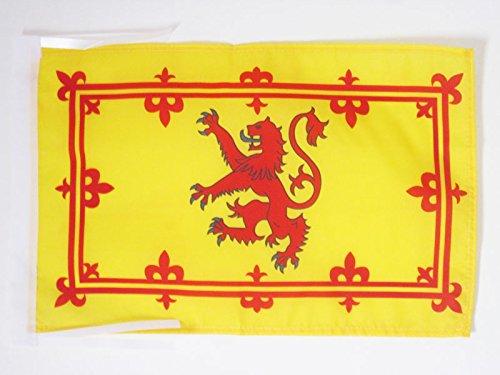 AZ FLAG Bandera Reino DE Escocia 45x30cm BANDERINA ESTANDARTE Real ESCOC/ÉS 30 x 45 cm cordeles