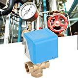 Rockyin Electric Stop Valve 3-Way Normally Closed
