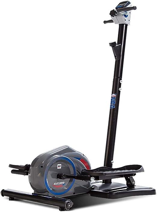 Máquinas de Step Máquina elíptica Equipo para el hogar Andador Equipo de Ejercicios Mudo Interior Bicicleta estática doméstica Paso a Paso de la Aptitud (Color : Black, Size : 60 * 50 * 125cm): Amazon.es: Hogar
