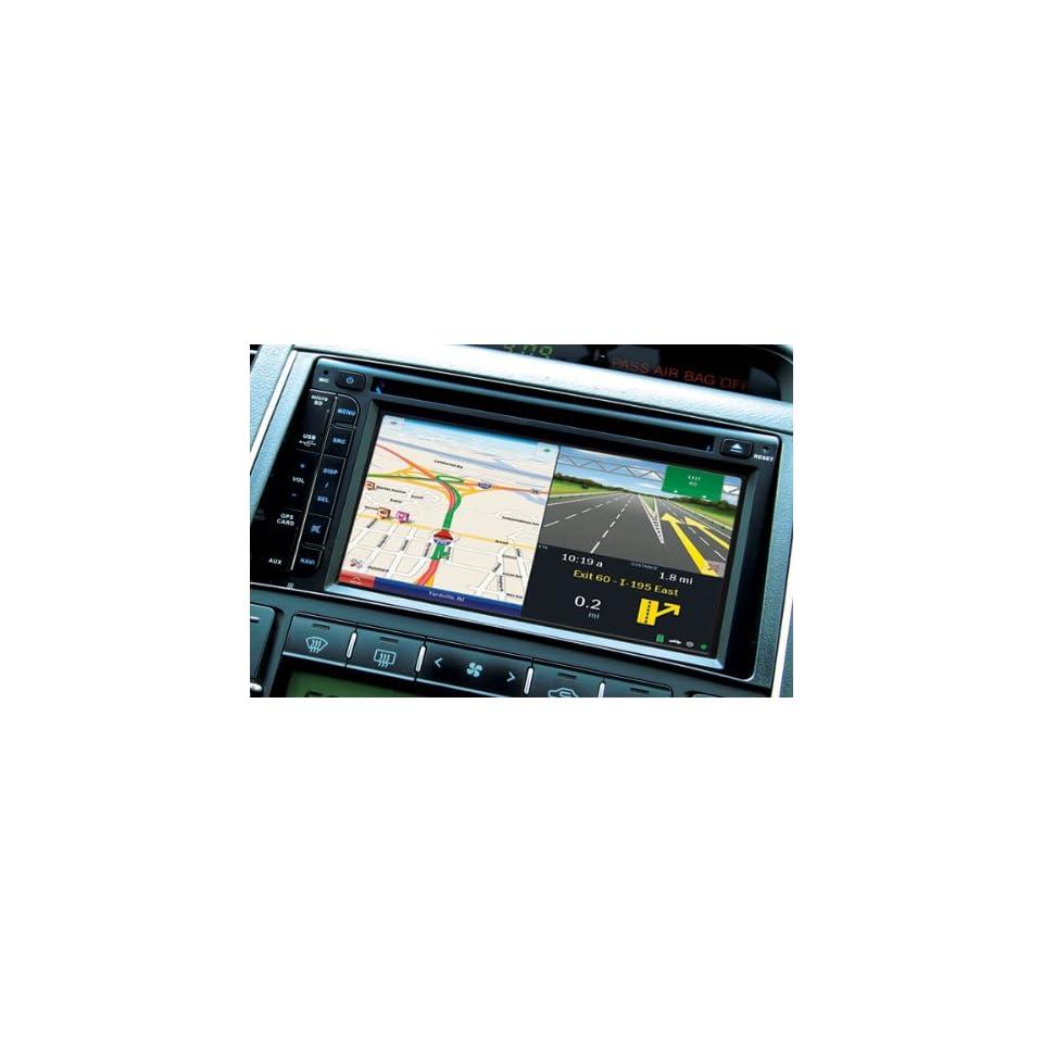 RoadtripTM In Dash Double Din DVD Player w/GPS Navigation & Bluetooth