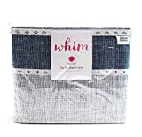 Off The Cuff Martha Stewart Collection Novelty Print Twin 3-pc Sheet Set, 200 Thread Count 100% Cotton percale