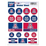 university of arizona auto decal - NCAA University of Arizona Vinyl Sticker Sheet, 5
