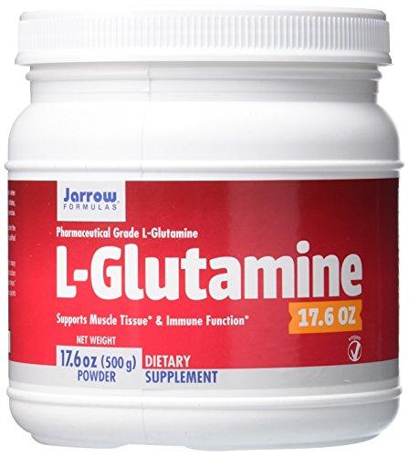 Jarrow Formulas L-Glutamine, Supports Muscle Tissue & Immune Function, 17.6 Oz For Sale