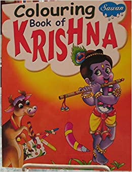 amazon in buy colouring book of krishna book at low prices