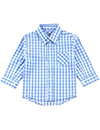Blue Toddler Dress Shirt