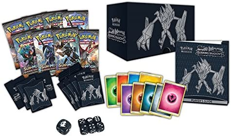 Pokemon TCG Burning Shadows Elite Trainer Box: Amazon.com.au: Toys & Games