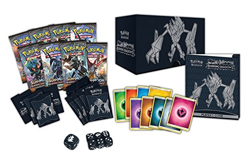 Pokemon Sun & Moon Burning Shadows Elite Trainer Box, Multicolor