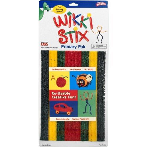 BrainBox Wikki Stix Primary Pack Games by Brainbox