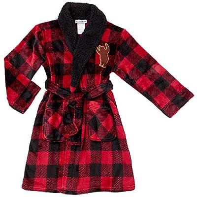 Komar Kids Big Boys' Fleece Robe