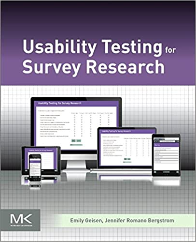 Amazon usability testing for survey research 9780128036563 usability testing for survey research 1st edition fandeluxe Choice Image