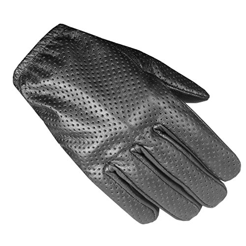 Men's Summer AirFlow Unlined Driving Motorcycle Perforated Leather Gloves XXL