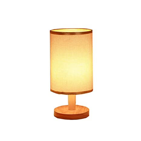 Charmant CCSUN Dimmable Table Lamp,Remote Control Night Light For Bedroom Study Room  Living Room Linen