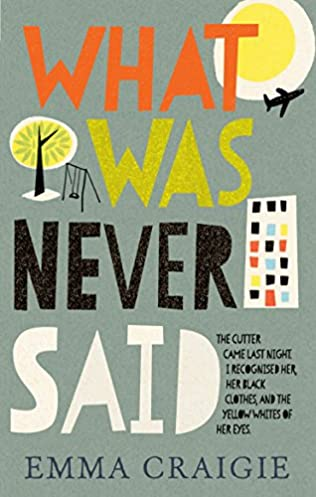 book cover of What Was Never Said