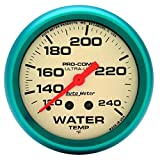 Auto Meter 4532 Ultra-Nite Water Temperature Gauge