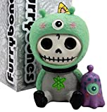 "This super cute Furrybones exclusive collectible measures at 3.25"" tall, 2.5"" long and 2"" wide approximately. It is made of designer composite resin, hand painted and polished. It is a perfect sit up figurine for your collection or a gift for a loved..."
