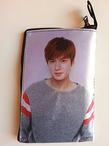 LEE MIN HO Korean Actor Mobile Phone Zip Case Bag Pouch (LE#001)
