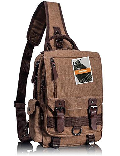 Leaper Messenger Shoulder Backpack Rucksack product image