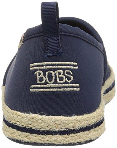 Skechers Bobs Des Femmes Flexpadrille-gypsy River Plat Marine