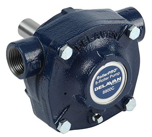 Delavan Cast Iron 8-Roller Pump - 24 GPM, 150 PSI, 1000 RPM, Model 8900C (Sprayer Pto Pump)
