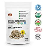 Basse Organic Sunflower Seeds, a Good Source of Fiber, Iron, and Potassium, Gluten Free – Kosher Certified 2.64 lb Review