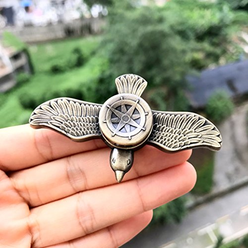 Fidget Spinner Toys UCLL Unique Seagulls Design Hand Spinner Toy EDC Stress Reducer Toy New Design Great Gift (Cooper)