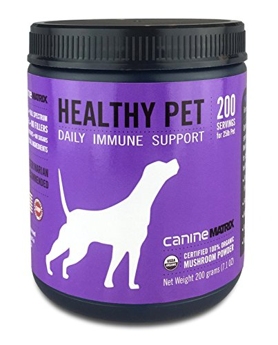 Canine Matrix Organic Mushroom Supplement for Dogs, Healthy Pet, 200 Grams