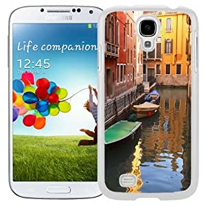New Beautiful Custom Designed Cover Case For Samsung Galaxy S4 I9500 i337 M919 i545 r970 l720 With River Town (2) Phone Case