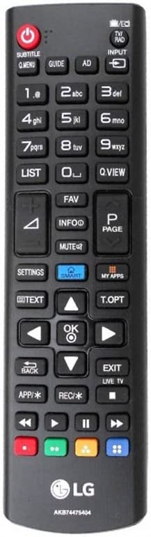 "Remote Control for LG 40UF695V 40"" Smart Wi-Fi 4k UHD: Amazon.co.uk: Electronics"