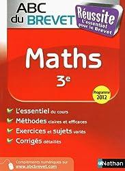 ABC du BREVET Réussite Maths 3e