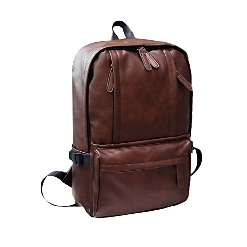 S.CHARMA Mochila para portátil mochila con bolsa para computadora portátil de 15.6 pulgadas Mochila de negocios Lona de algodón para damas y hombres de alta ...