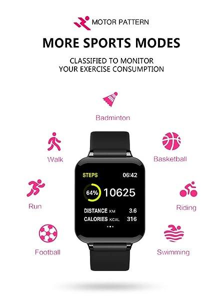 Amazon.com: Huiaynag Reloj inteligente de actividad y ...