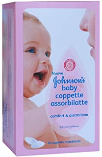 Johnsons Baby Discos de lactancia, suaves y con 100% algodón puro ...