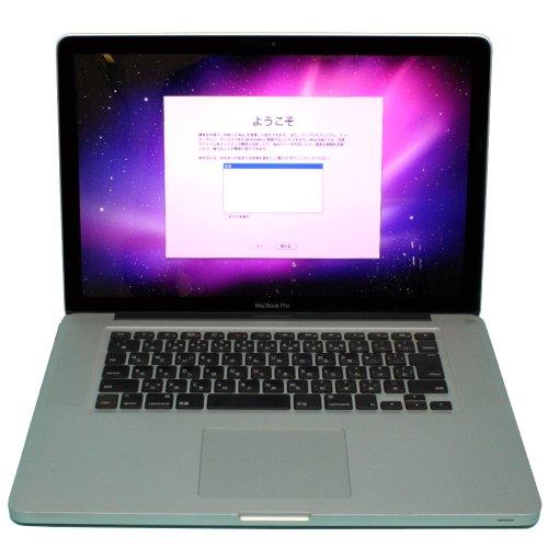 アップル 15.4インチ A4ノート MacBook2.66GHz Core i7 250GB MC373J A(565454)