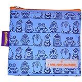Allermates Kids I Have Food Allergies Snack Bag - Blue Large